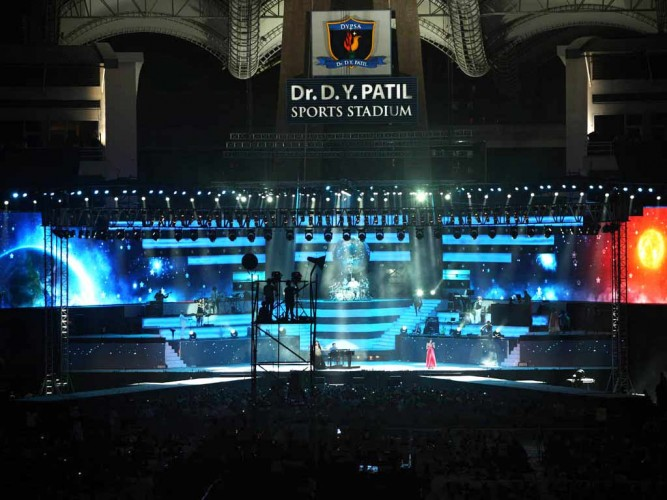 A R. Rahman Live In Concert - Night View with Lightings