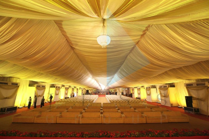 AC Banquets with Balloon Lighting SNDT, Juhu