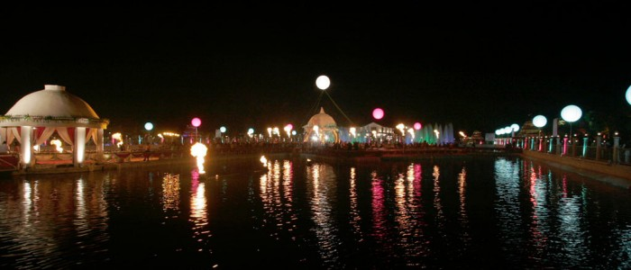 Airlight Balloon lighting at surat long view