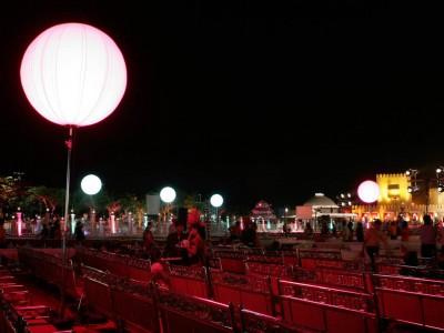 Airlight Balloons sitting area at Surat