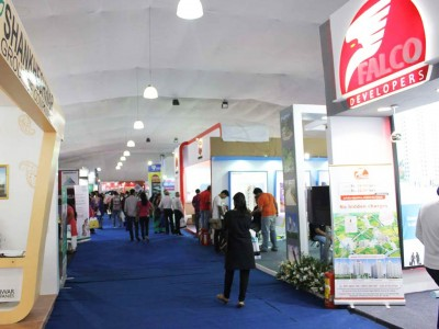 Exhibition stalls at MCHI property exhibition