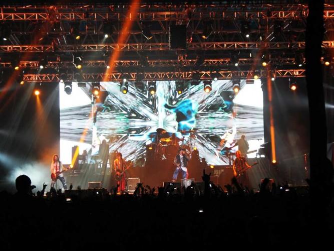 Guns n Roses Live Concert