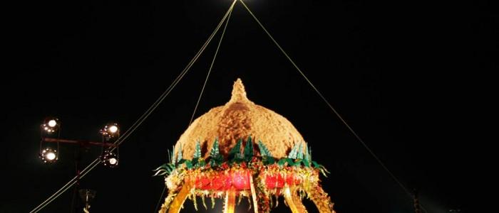 traditional vidhi mandap at Surat wedding