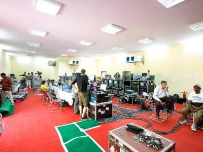 IPL Media Room Exterior inside