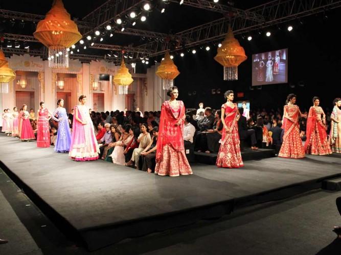Talent Box at India Bridal Fashion Week