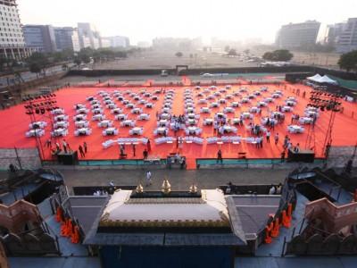 Janata Raja Sitting Arrangment from Front view