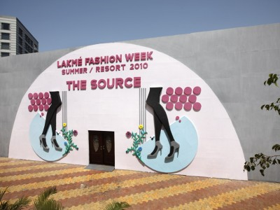 Lakme Fashion Week facade 2