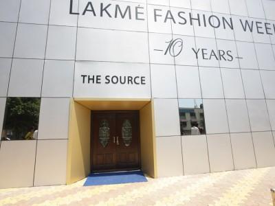 Lakme Fashion Week Facade