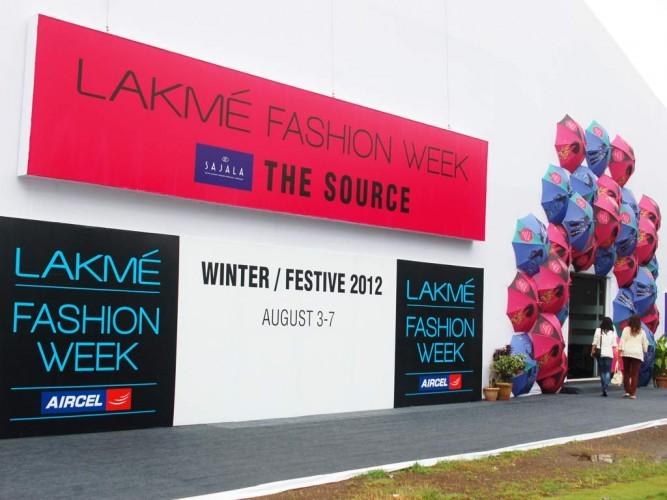 Lakme Fashion Week Winter Festive 2012