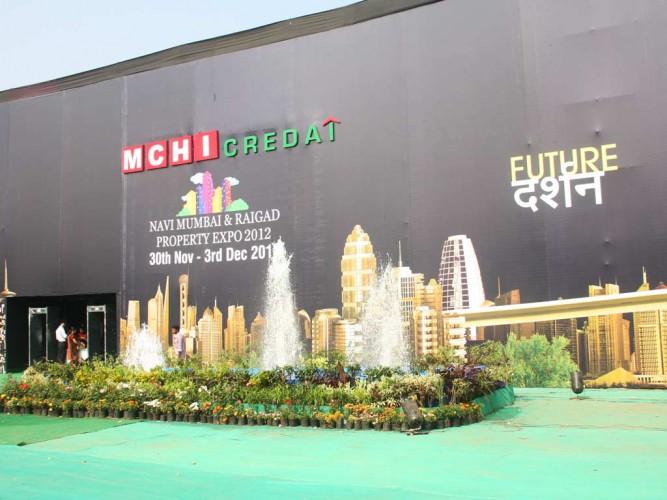 MCHI CREDAI Navi Mumbai Property Expo-2012