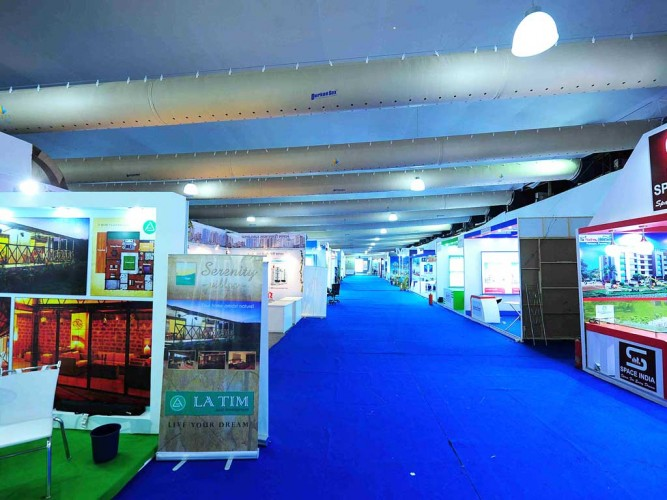 MCHI Credai exhibition stalls by JessIdeas
