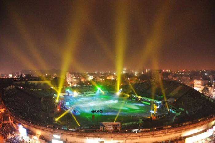 Sky Trackers for open air stadium at Nagpur