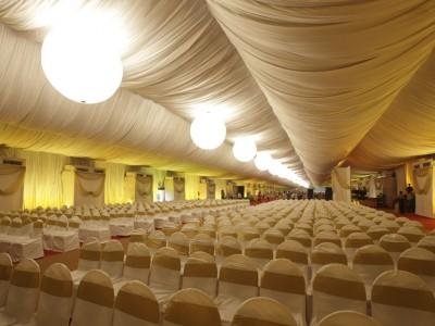 Temp. AC Banquets with Balloon Lighting SNDT Juhu (B)