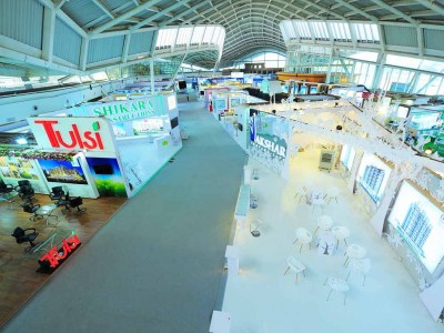 Top View of property exhibition