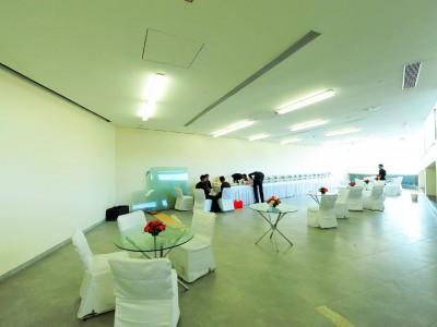 VIP cafetaria set up at CIDCO center