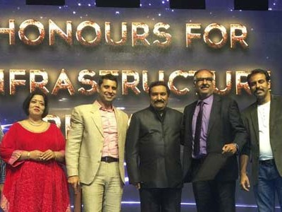 Honour For Infrastructure by EEMA