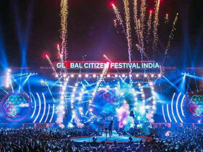 Global Citizen Festival India 2016 (Coldplay)