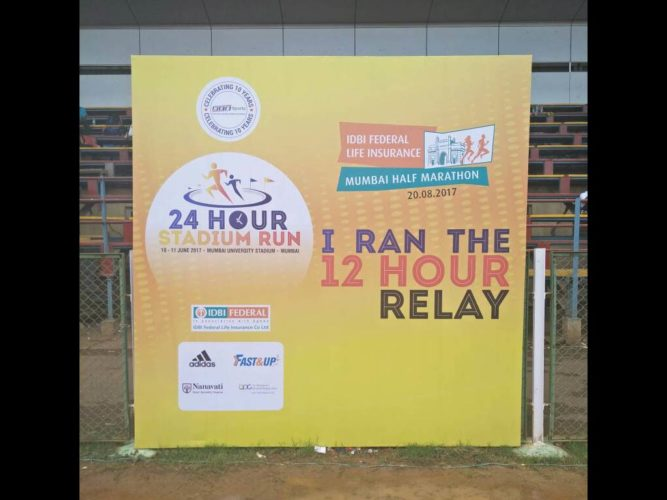 24 Hour Stadium Run 2017 Mumbai