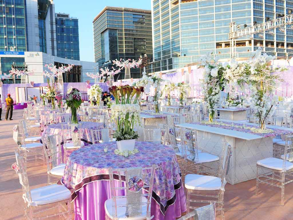 wedding ideas for february 2017 weddings at bkc mumbai venue decoration jess ideas 28133
